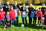 Jan Aldous, Barry Kemp and Rehman Chishti M.P. visit Wigmore Youth FC