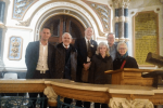 Medway Conservative Group members at Holocaust Memorial Day service