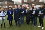 Alan Kew and Medway Conservatives Out Canvassing