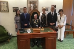 Visit from the Mayor of Yokosuka, Japan