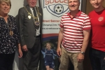 Councillor Rupert Turpin (second right) pictured with the Mayor and Mayoress of Medway, and Keith Mabbutt, CEO of the Street Soccer Foundation