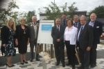 Medway Conservatives and SELEP officials mark the completion of works at commercial road car park in strood
