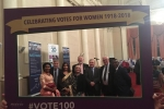Councillors Opara, Williams, Saroy, Aldous, Etheridge, Jarrett, Doe and Tejan at the event
