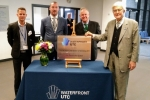 Cllr Potter at the UTC opening
