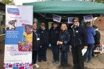 Councillor Aldous and the Gillingham Girl Guides