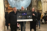 Strood Rural Councillors at the Museum of the Moon event
